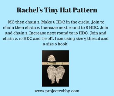 Rachel's Tiny Hat Pattern