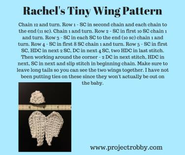 Rachel's Tiny Wing Pattern