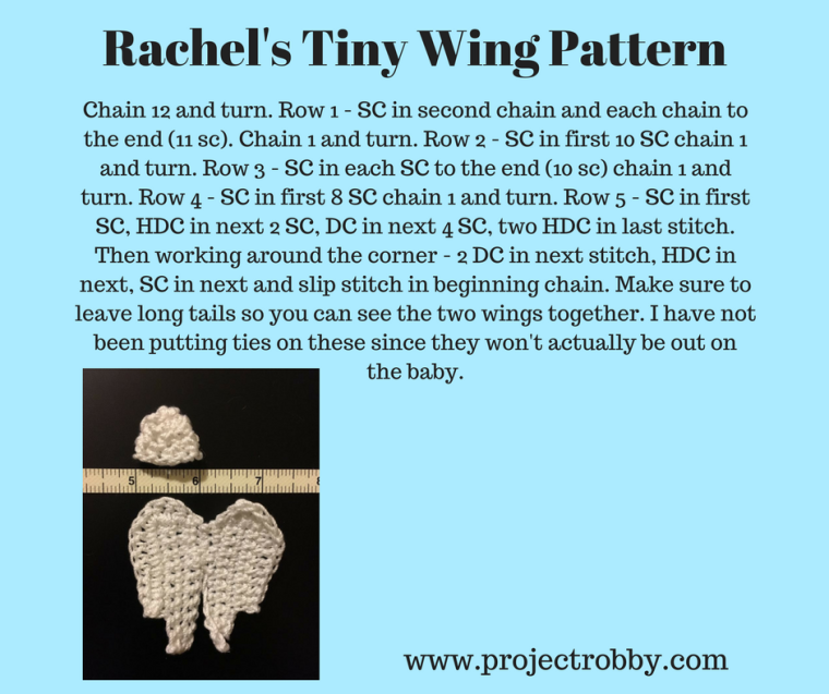 Rachel's Tiny Wing Pattern