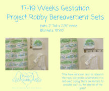 17-19 Weeks GestationProject Robby Bereavement Sets (1)