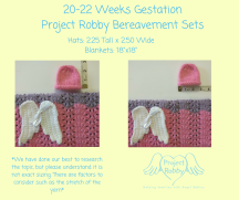 20-22 Weeks GestationProject Robby Bereavement Sets (1)