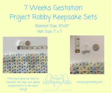 7 Weeks GestationKeepsake Sets (1)