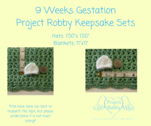 9 Weeks GestationProject Robby Keepsake Sets (1)
