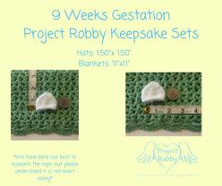 9 Weeks GestationProject Robby Keepsake Sets (1)